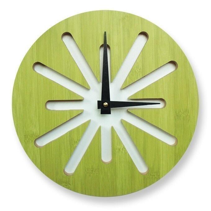 vitamini handmade cool clocks