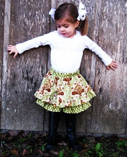 Sew Pattern Twirl Skirt Twirl SKORT - PDF ePattern