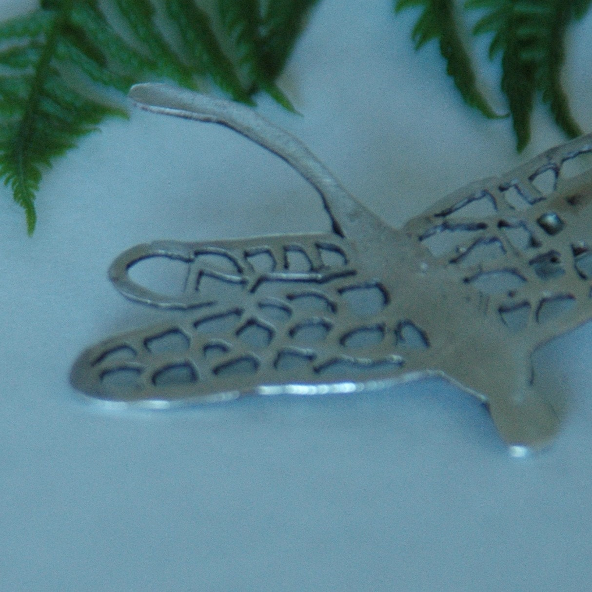 Dragonfly  - Sterling Silver Pendant