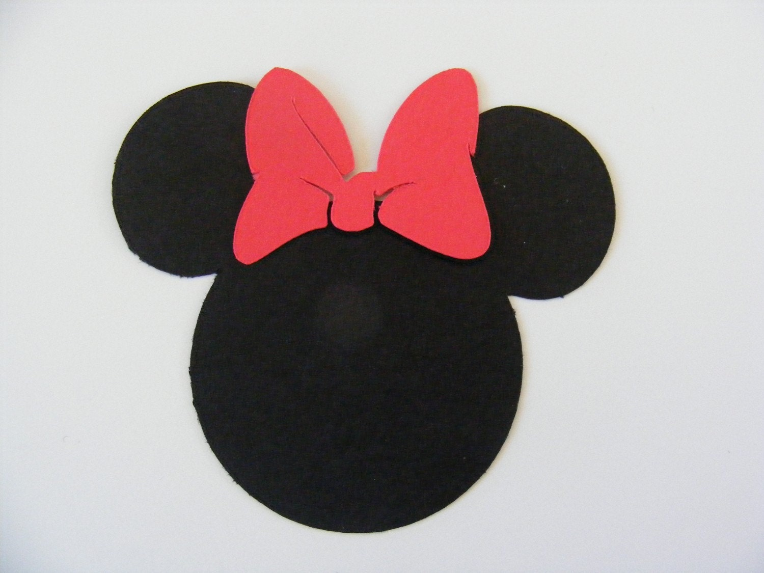 20 Minnie Mouse Head Die Cut Perfect For By