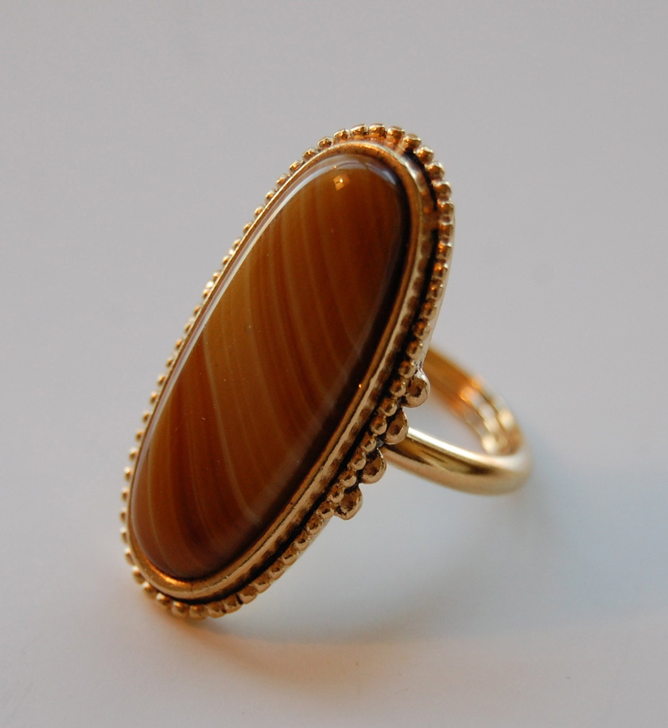 Vintage avon faux agate ring costume by midwestattictreasure for Vintage costume jewelry websites