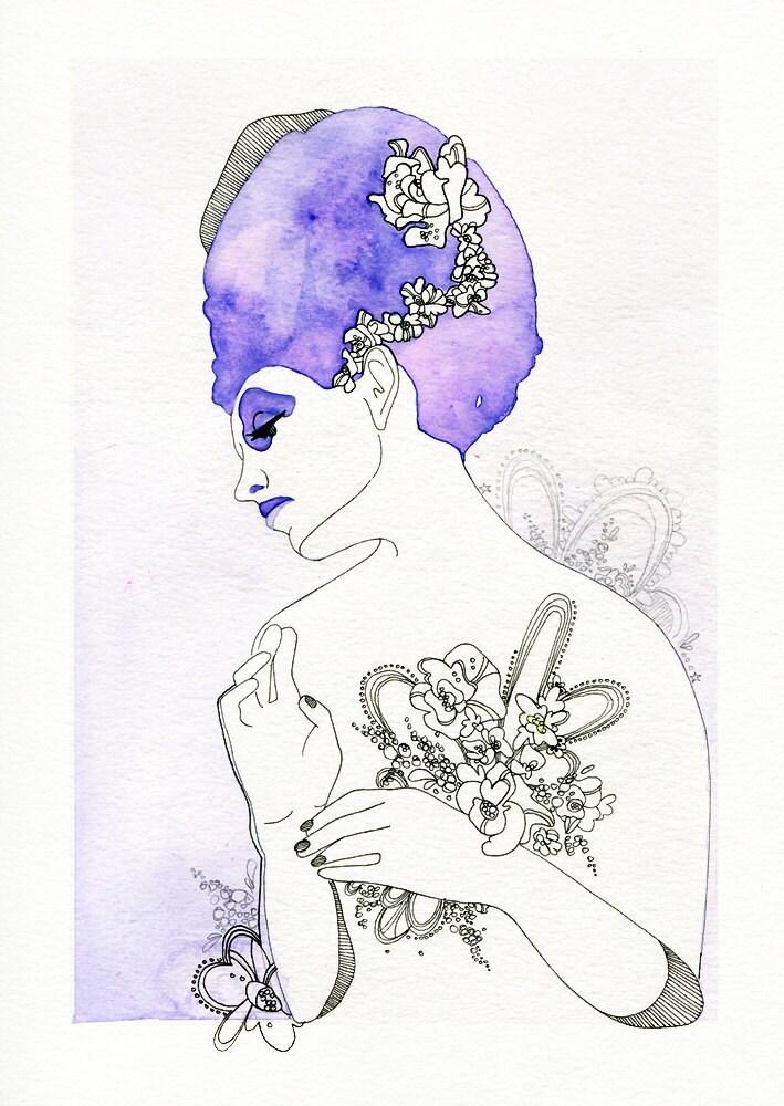 Elsa - Original Art Print
