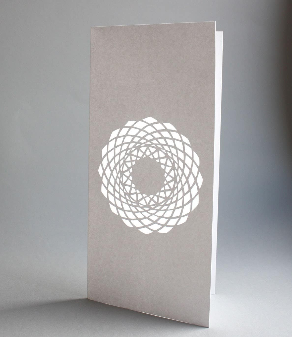 Hand Cut Greeting Card