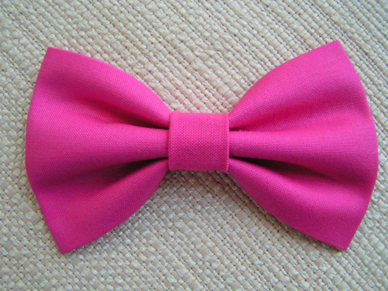 Items Similar To Hot Pink Hair Bow Hair Bows For Girls
