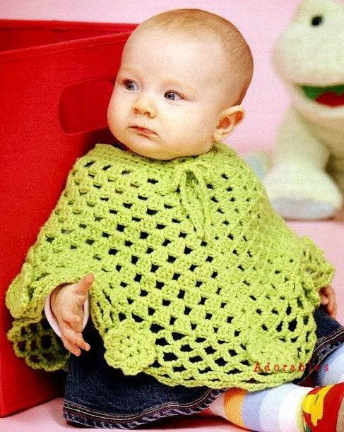 Childrens Poncho Crochet Patterns – Crochet Patterns