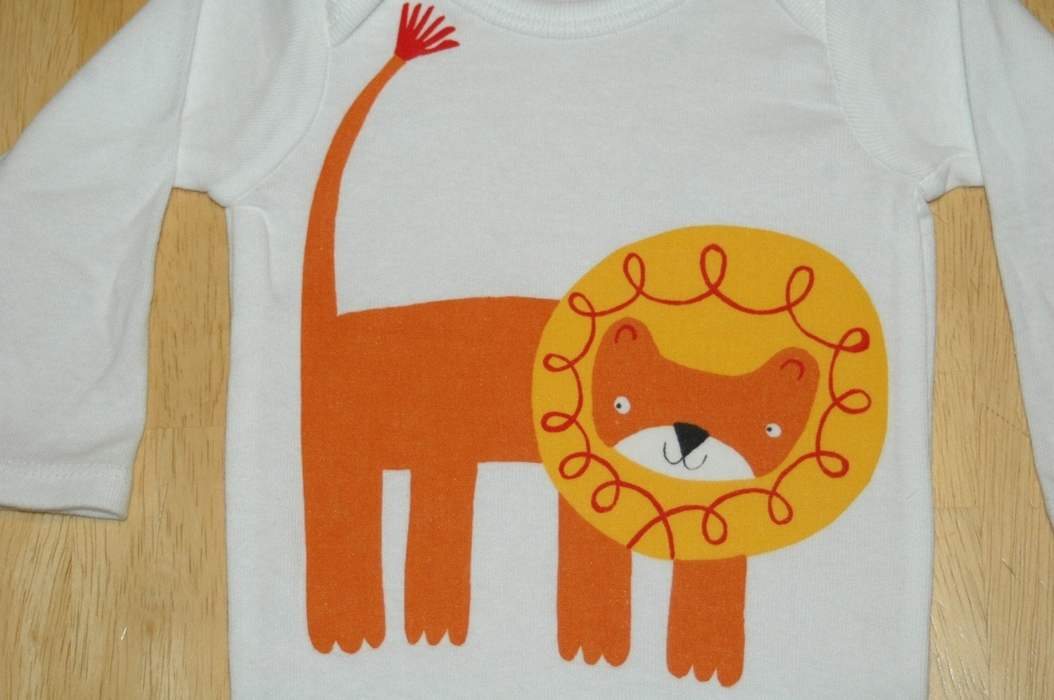 Lion Applique Onesie