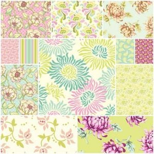 Freshcut, Refreshing and Light Pastel or Earth Tone Floral Throw Rag Quilt - WestCoastQuilts