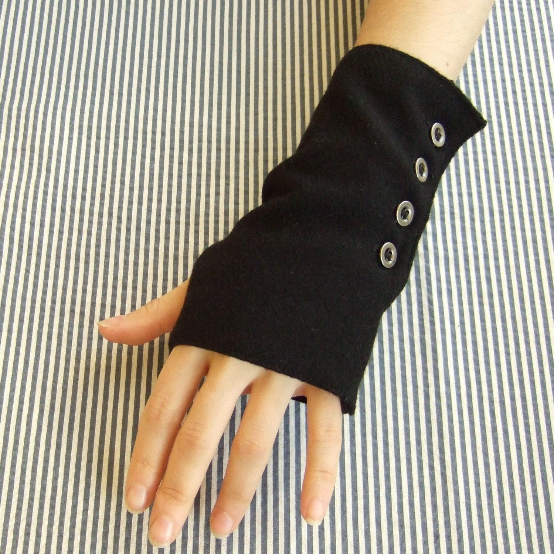 Womens Gothic Steampunk Fingerless Gloves By Morrigannyc