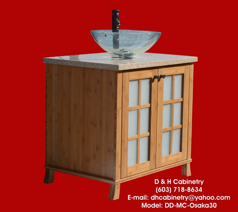 32 Modern Contemporary Bamboo Bathroom Vanity By Dandhcabinetry