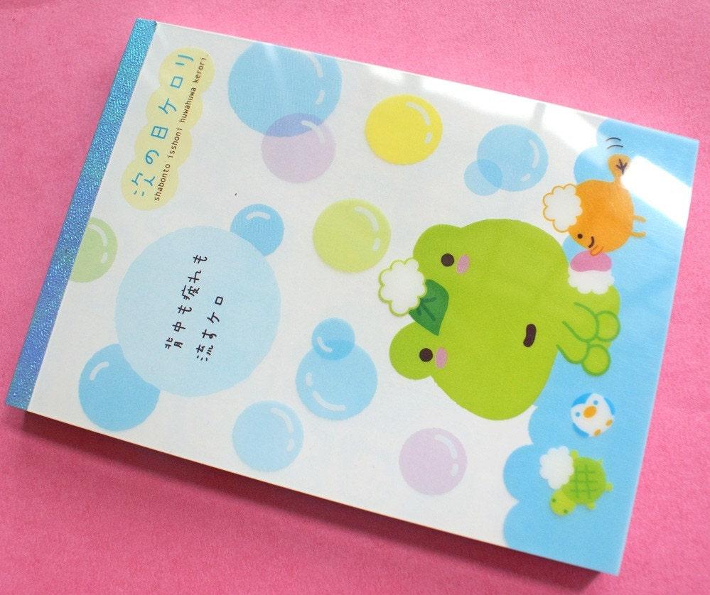 Kerori San X Frog Character Anime Memo pad