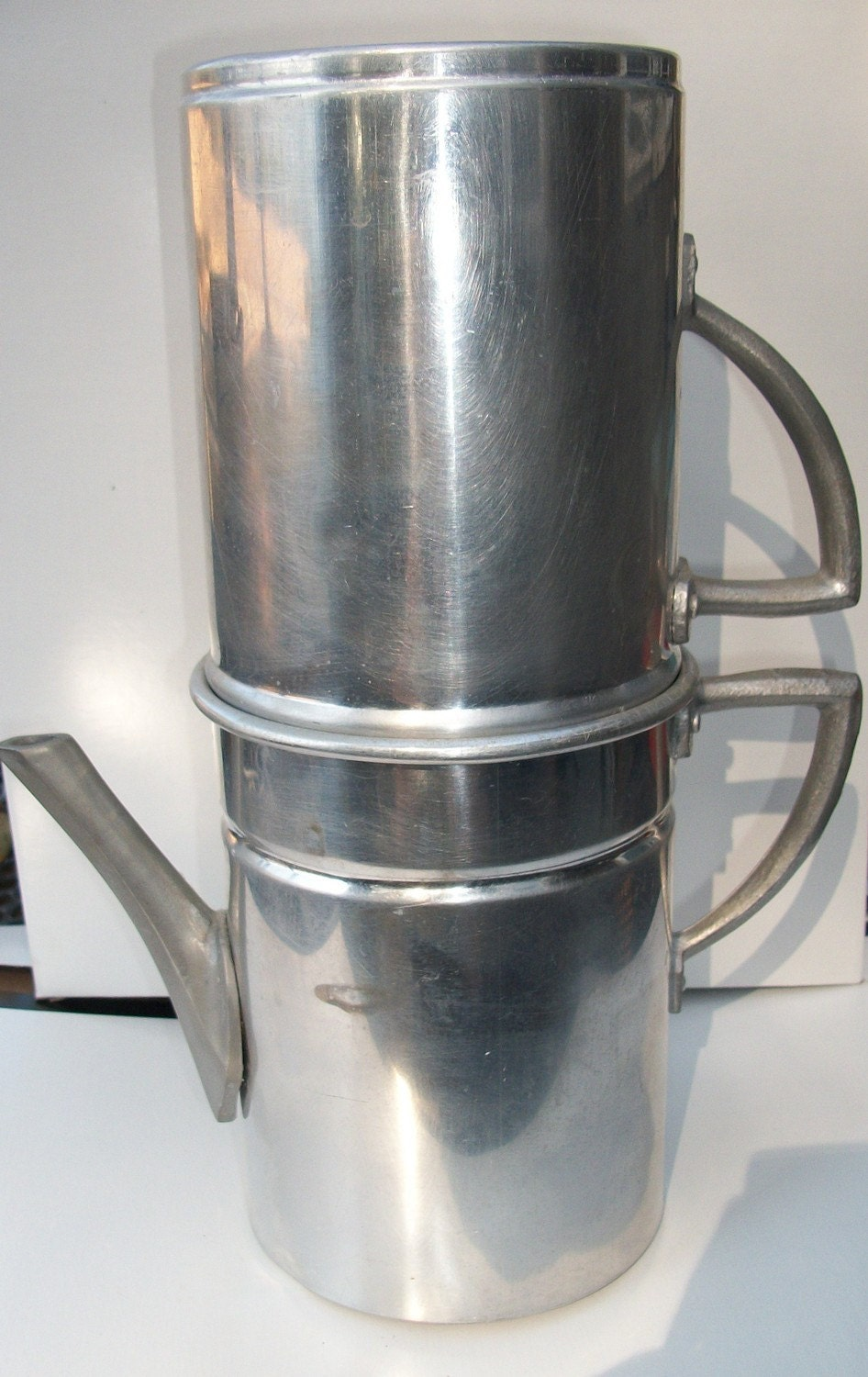 Italian Coffee Maker Filter : Vintage Camping Coffee Maker made in Italy by VintageHomeShop