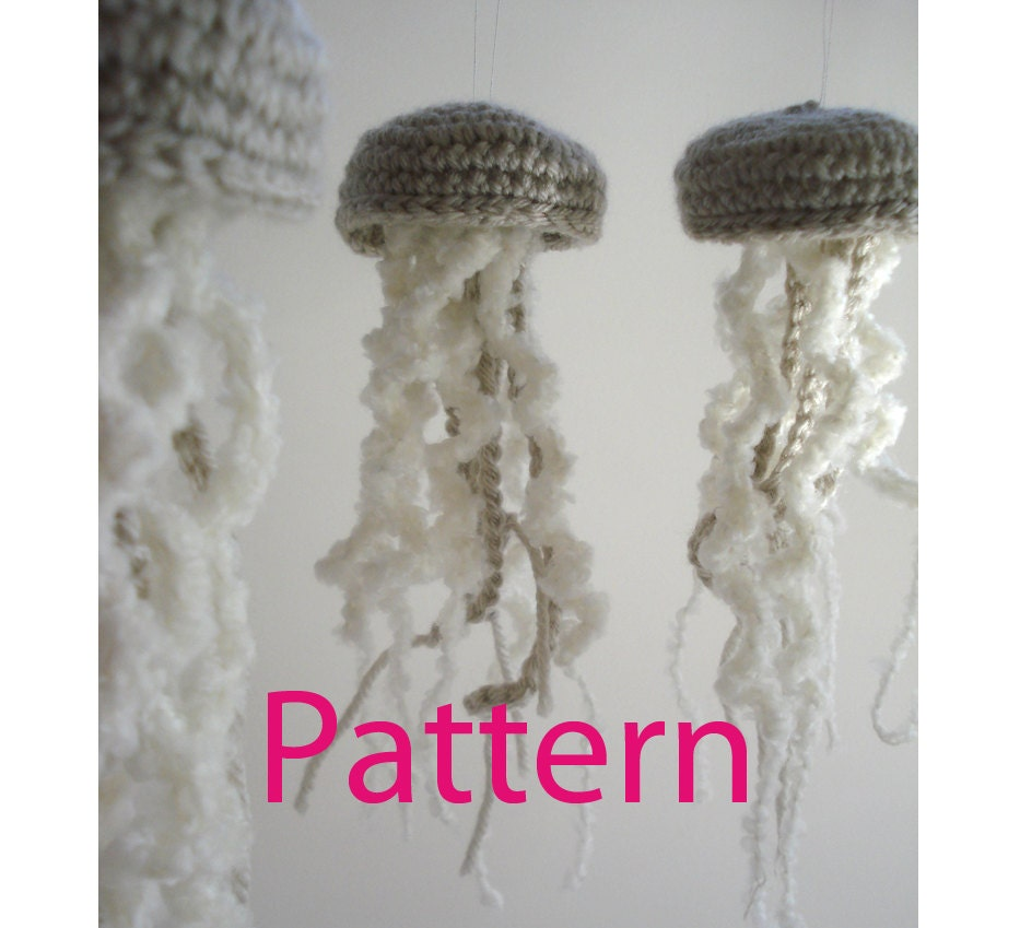 Jellyfish Ornament Amigurumi Crochet Pattern by Lazymuse ...