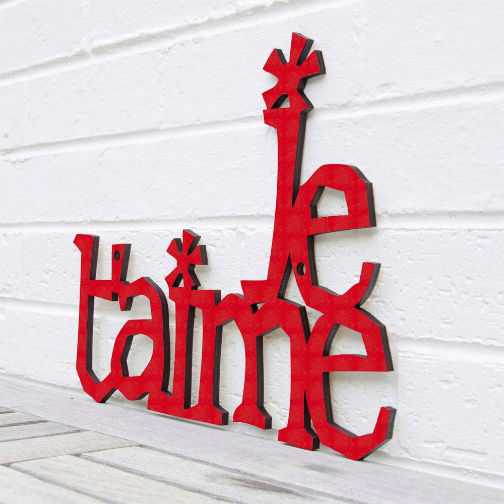 Je T'aime (I love you French sign, valentine) - spunkyfluff