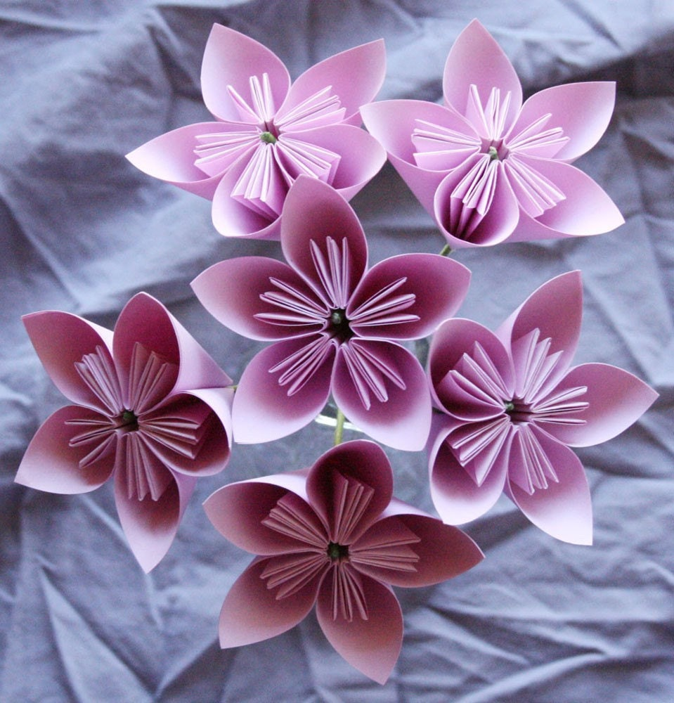 MAKING ORIGAMI FLOWERS « EMBROIDERY & ORIGAMI - photo#29
