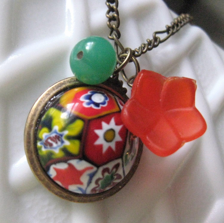 KALEIDOSCOPE charm necklace