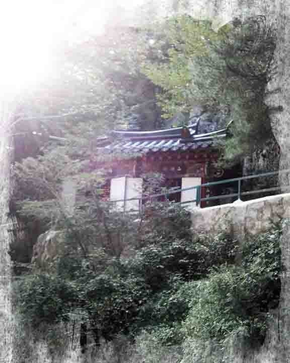 Korean Mountain Temple
