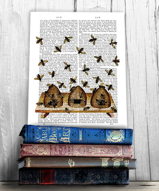 bee kitchen decor on etsy a global handmade and vintage