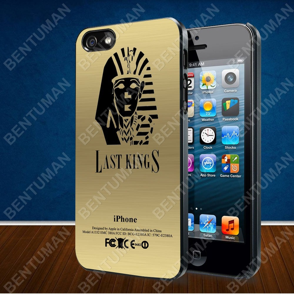 Tyga Last Kings Gold Texture case for iPhone 4  4S  5  5S  5C and    Tyga Gold Iphone