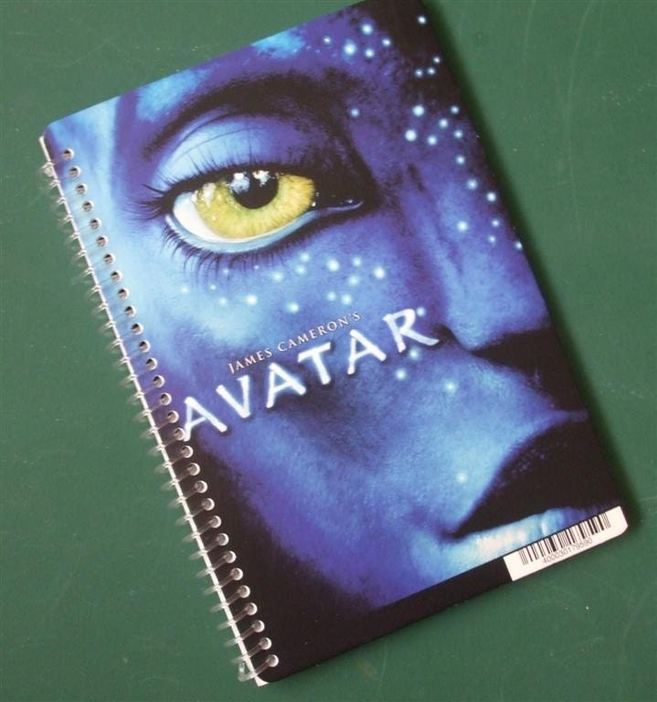 avatar dvd cover art. Avatar DVD Backer Card Cover Art Spiral Notebook. From BubblePopNotebooks