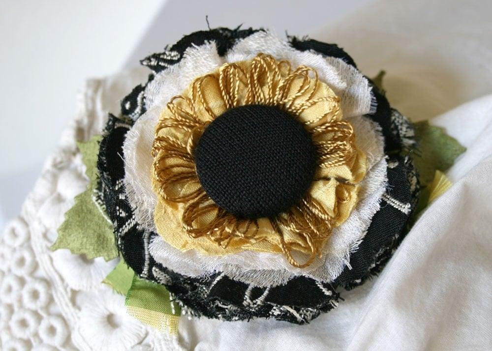 Цветы цветы из ткани