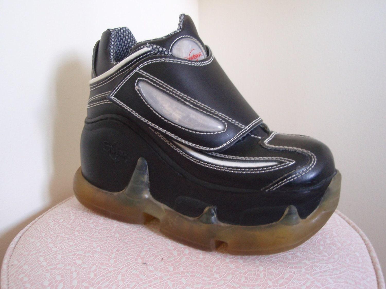 vintage 90s club kid swear platform shoes 7 by