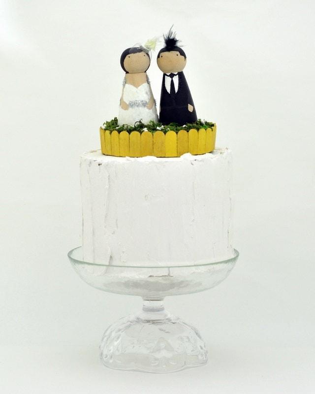 Kokeshi Cake Topper