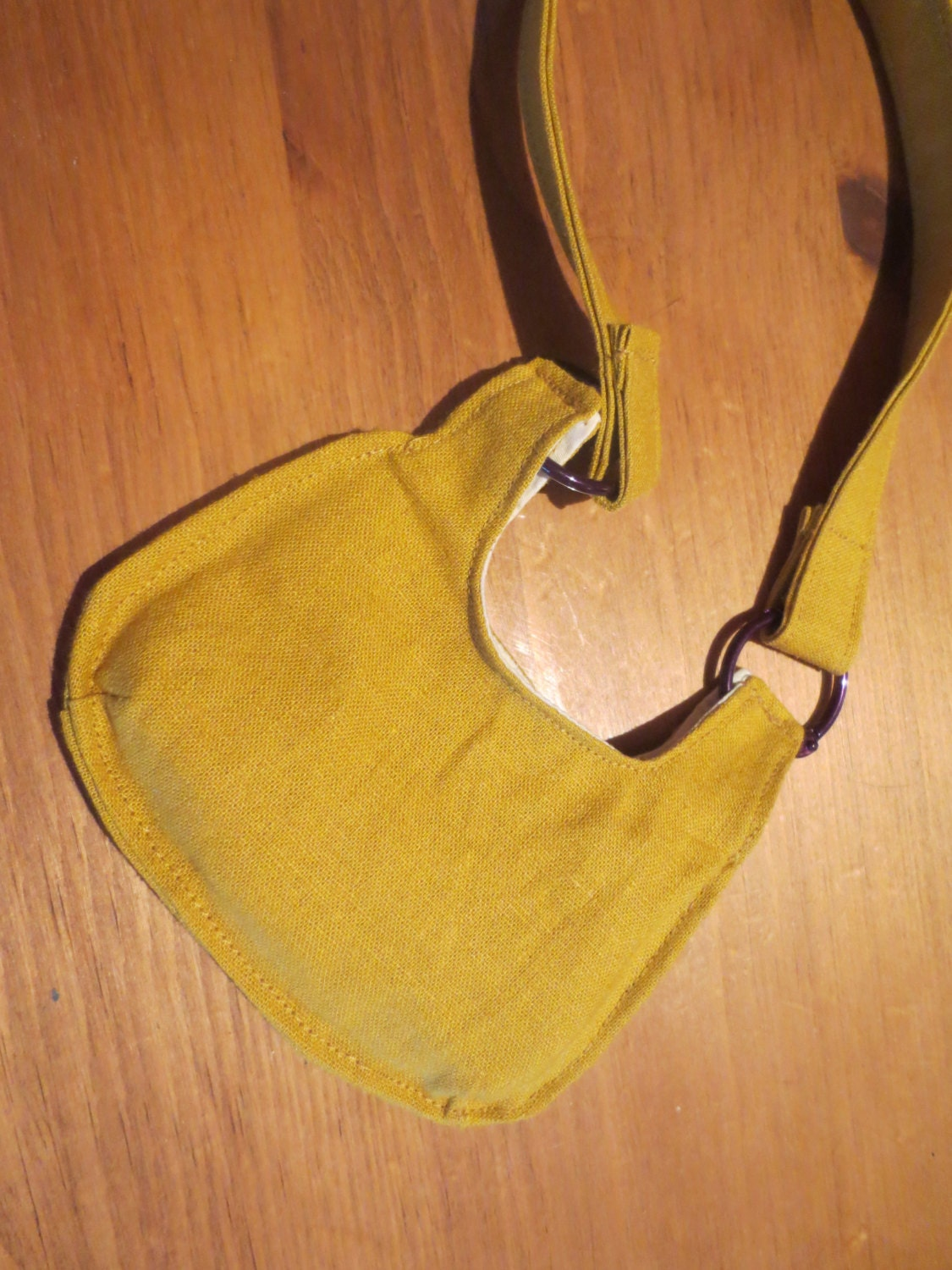 "18 inch - Mustard Seed Collection ""Purple Eggplant"" BAG"