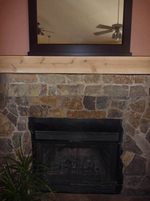 tv shelf rustic fireplace mantel floating by