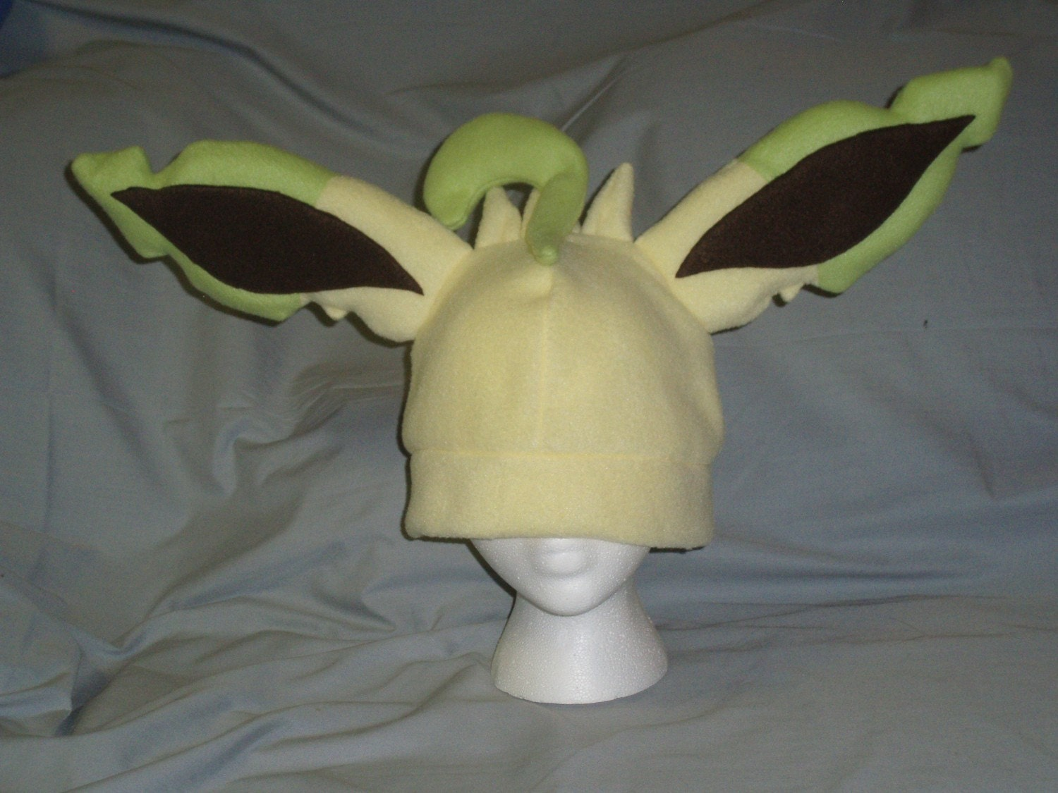 glaceon fleece hat by - photo #24