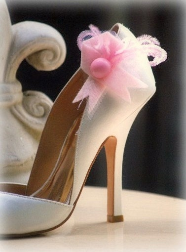 Hope Shoe clips handmade Summer Special Day Wedding Women Bride Couture Fine Beautiful stylish fashion statement care Love Gossip Girl
