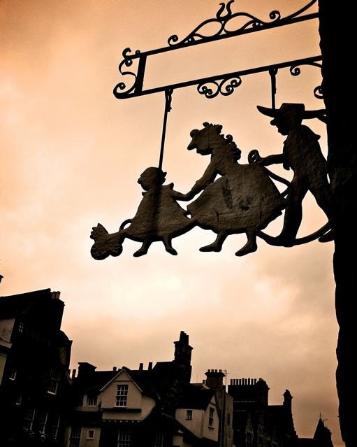 Halloween Art.  Flights of Fancy Edinburgh - 8x10 Fine Art Photograph.  Whimsical Photo, room decor for children', kids.