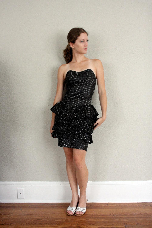Skirt Little Black Party Dress