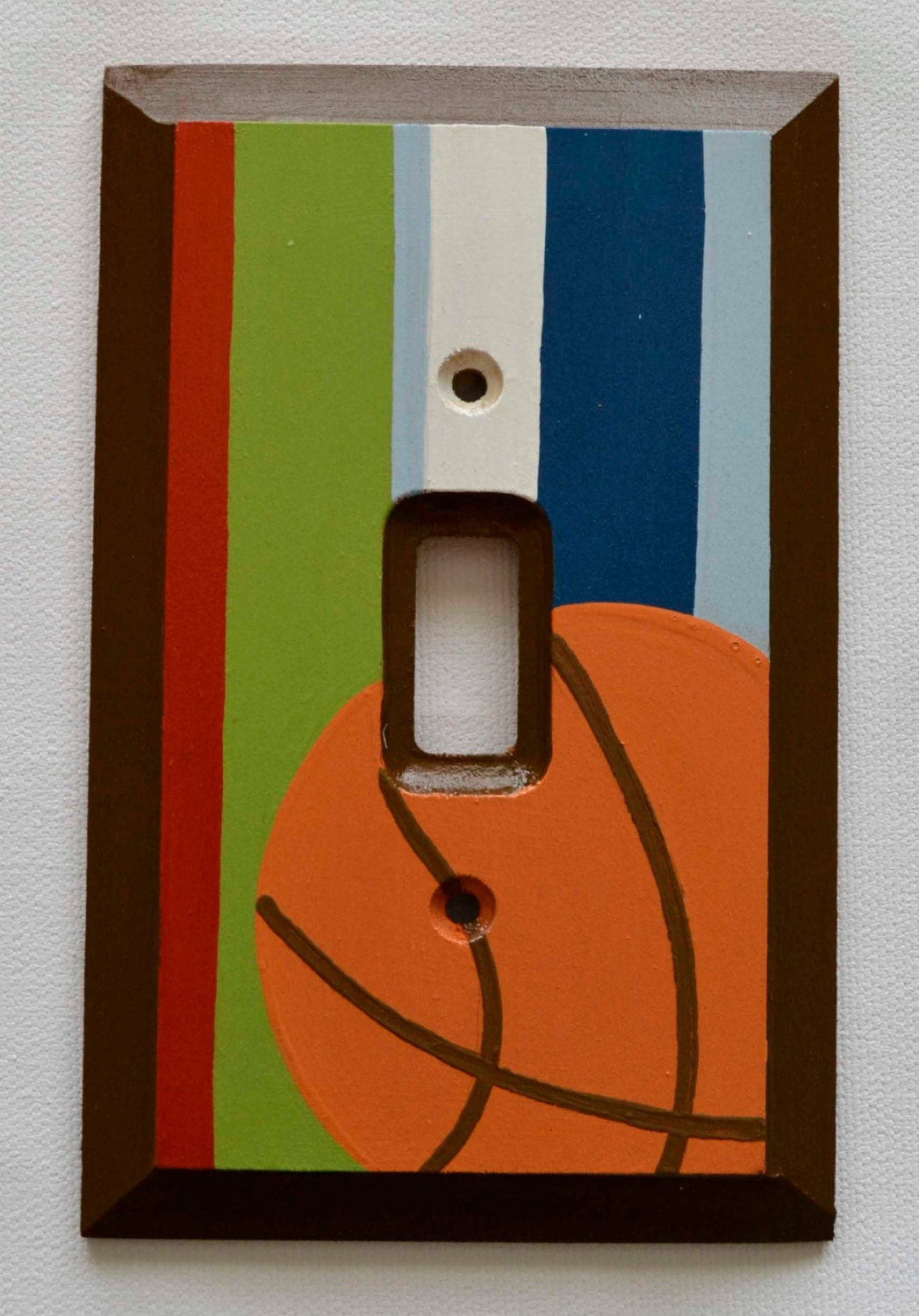 Basketball Switch Plate Light Switch Cover By