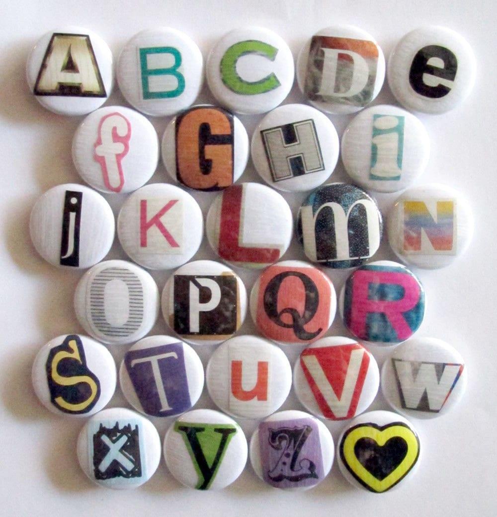 Alphabet Magnet Set - Ransom