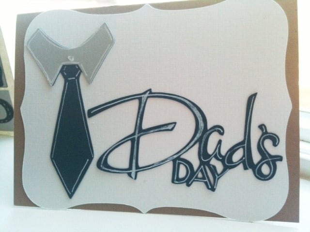 Dad's Day- Simple Father's Day Card, Note, Greeting Card
