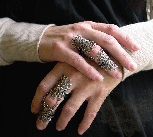 finger armor ring. Byzantine Armor Ring Gothic