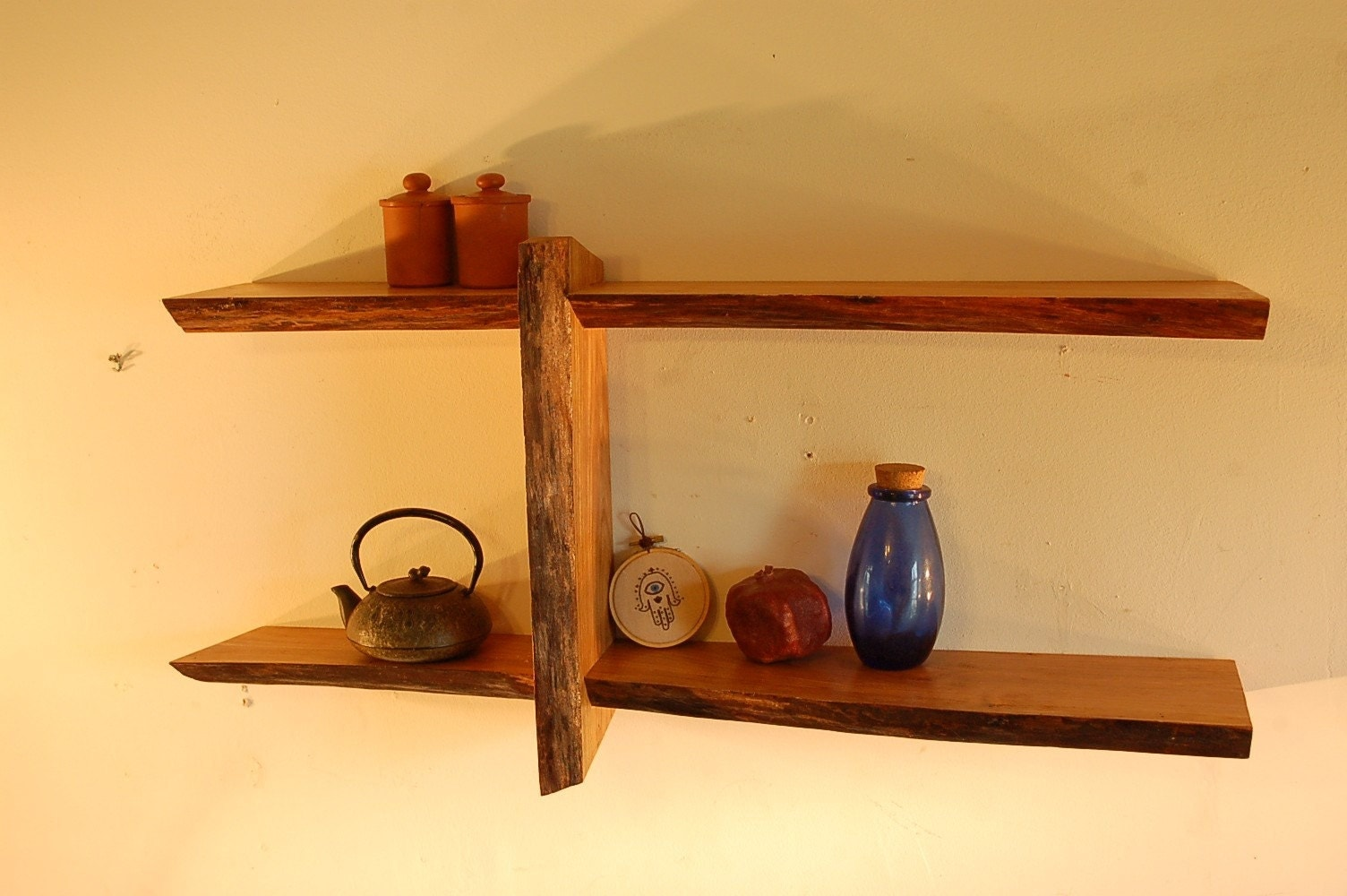No. 5 - Live Edge Shelf