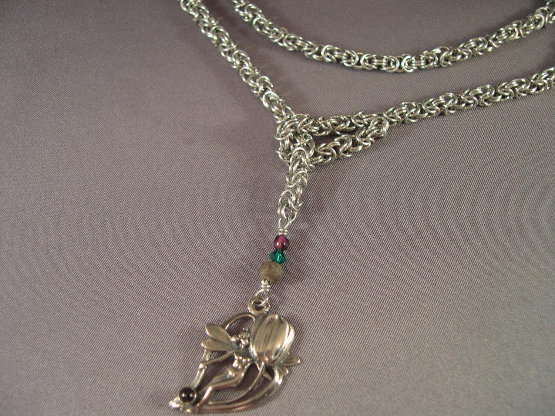 Fairy Lariat Necklace by AthenasArmoury