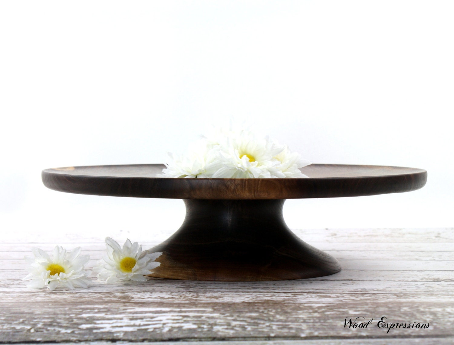 Wedding Cake Stand Pedestal Cake Stand Wooden By WoodExpressions