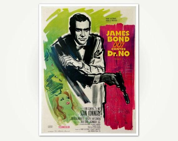 James bond movie posters book