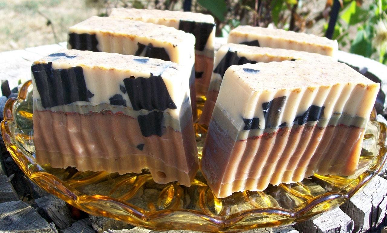 Kitchen Witch Goddess Bath Bar Milk & Honey Spiced Apple Oatmeal Soap