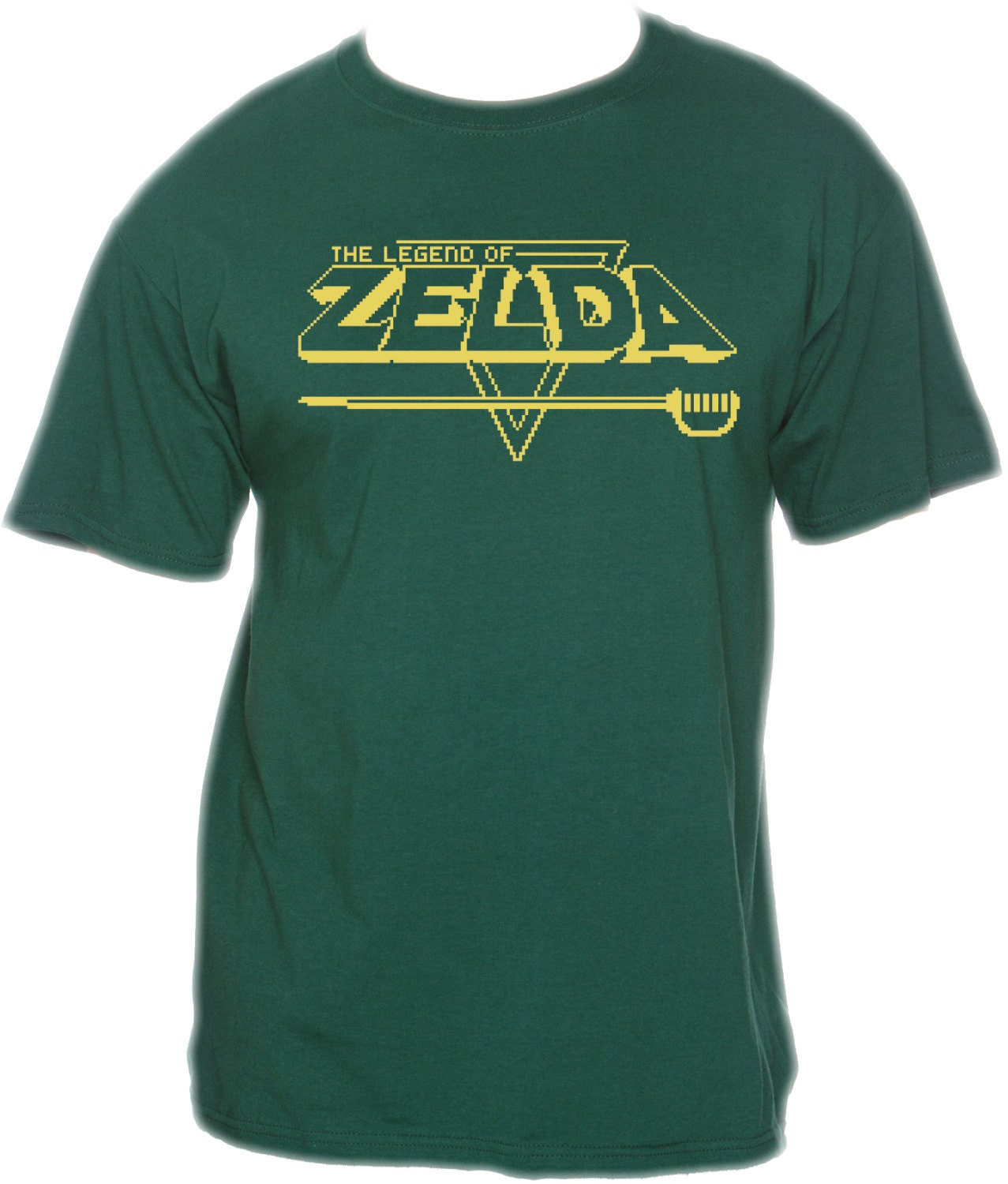Retro Legend Of Zelda T Shirt By Superbitkicks On Etsy