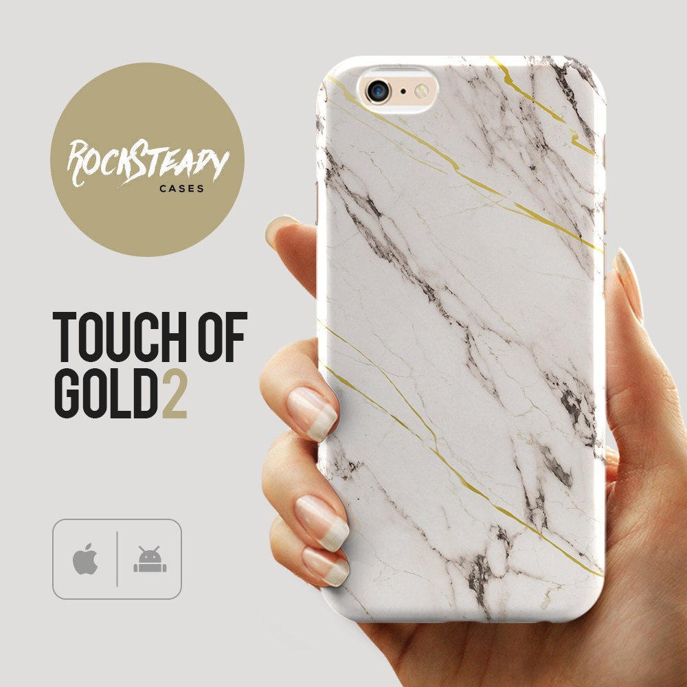 Touch of Gold Marble iPhone 6s case Samsung S7 case iPhone 6 Plus SE 5 5S 5C unique marble design cell phone case Galaxy S6S5