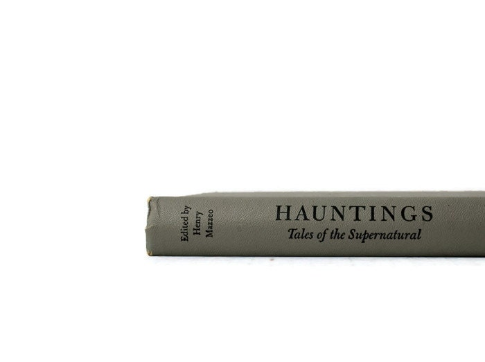 Vintage Hauntings Tales of the Supernatural, 1968, Grey, spooky story, Halloween Book - vintagetoyshoppe