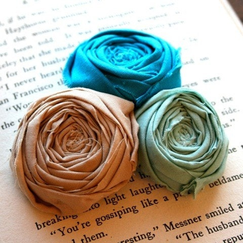 Blue and Milk Chocolate by Brydferth chic rose wedding accessories