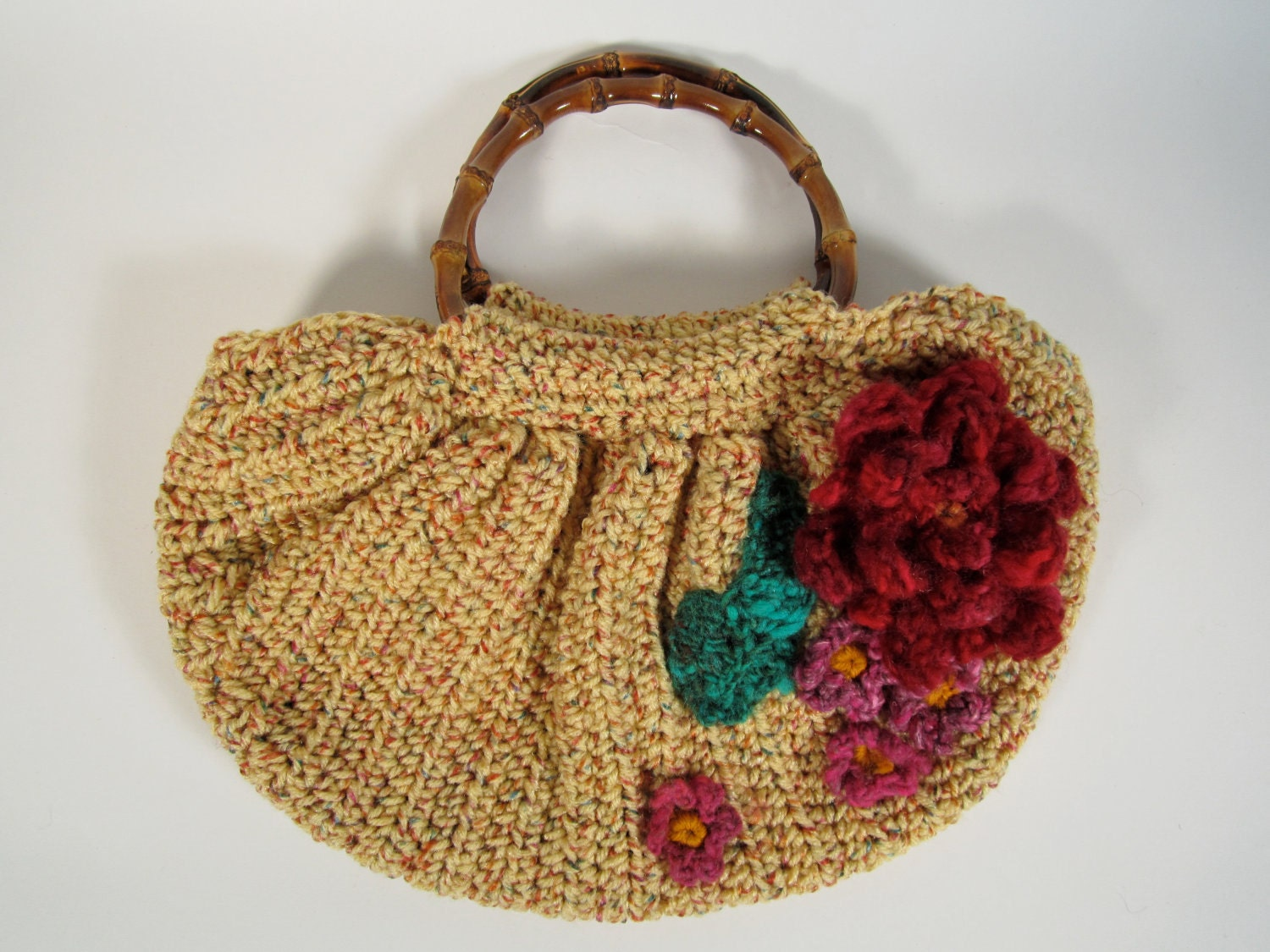 Crochet Hippie Bag : Crochet Boho Slouchy Slouch Bag Hippie Purse Womens Handmade Accessory ...