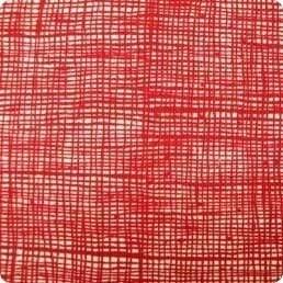 Alexander Henry FABRIC  - Home Dec - Heath - Red