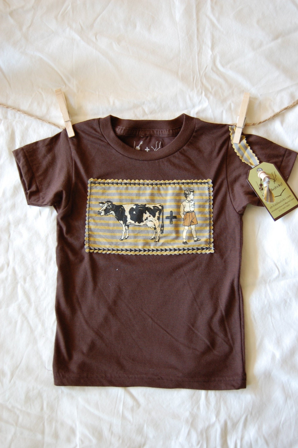 COWBOY children's shirt 12m, 18m, 2T, 4T perfect for RODEO time, also have COWGIRL for brother and sister shirts