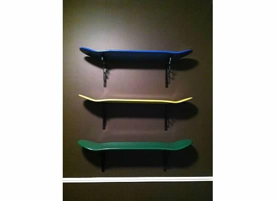items similar to skateboard shelf or book shelf custom. Black Bedroom Furniture Sets. Home Design Ideas