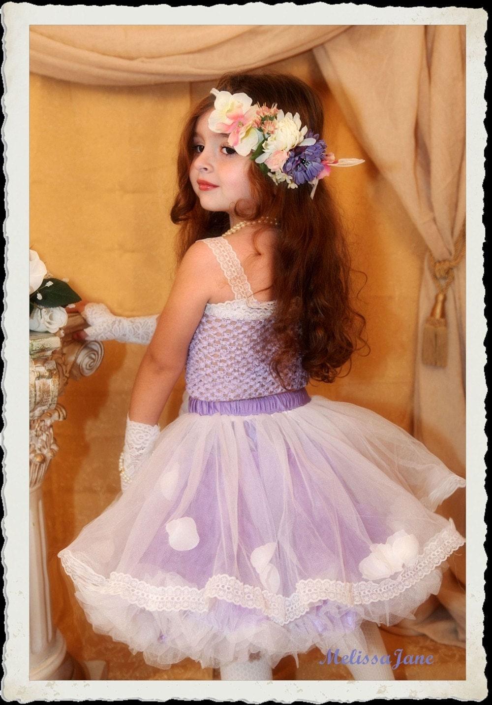 اسطوخدوس سعادت جواهر لباس توتو با توری Embellished